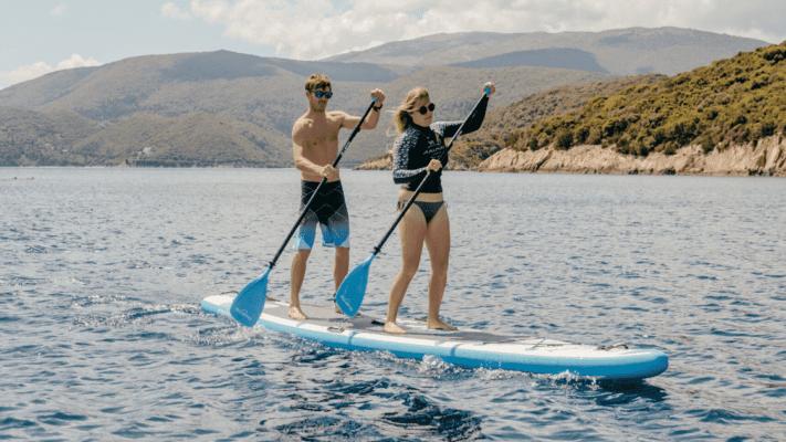 Bluefin tandem paddle board