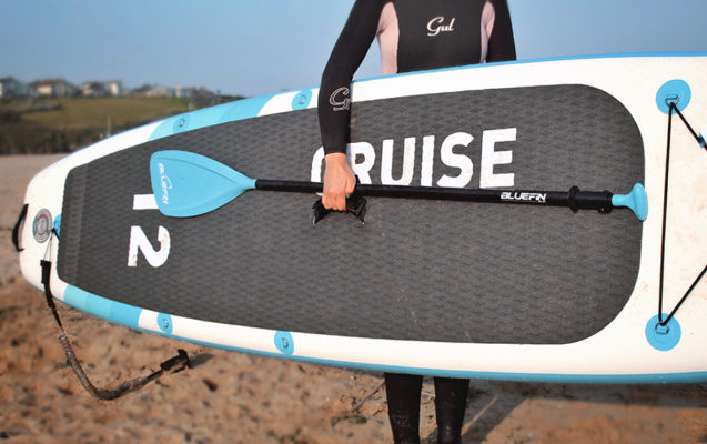 Bluefin versatile stand up paddle board