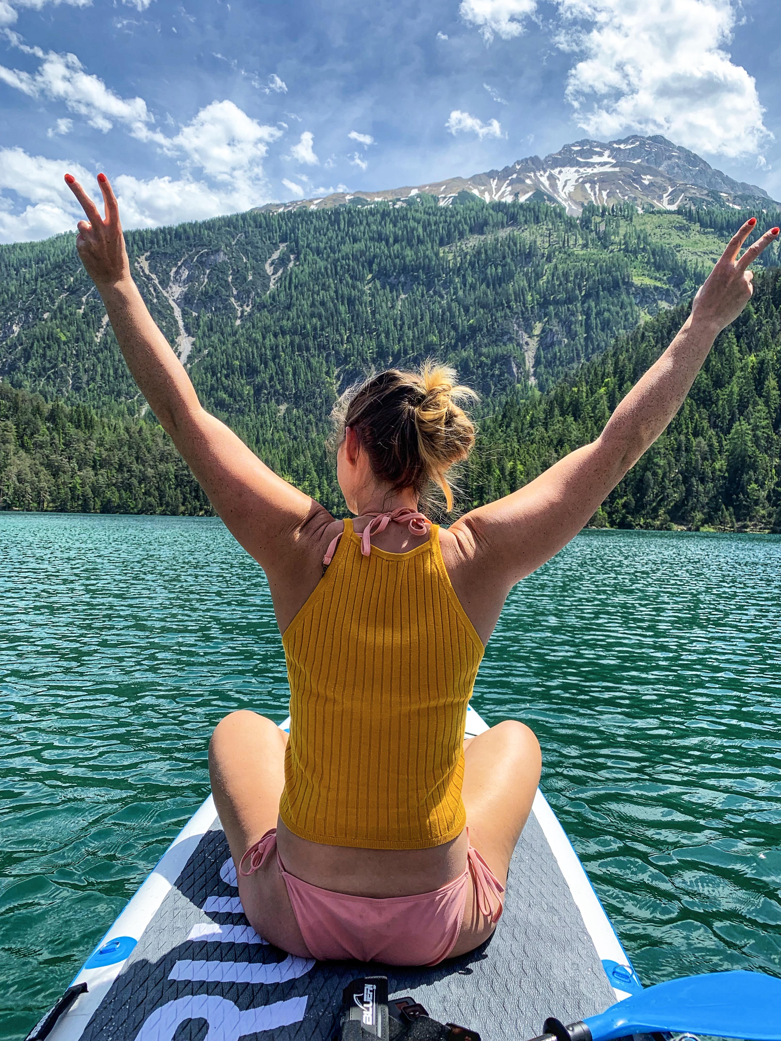 La più bella location per fare stand-up paddle in Austria, La più bella location per fare stand-up paddle in Austria