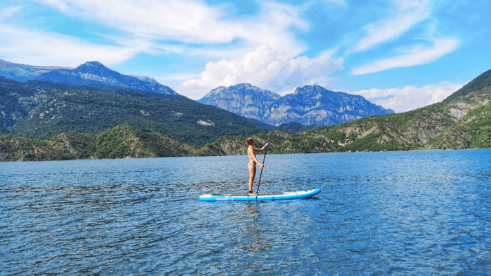 Bluefin how hard is it to do stand up paddle boarding