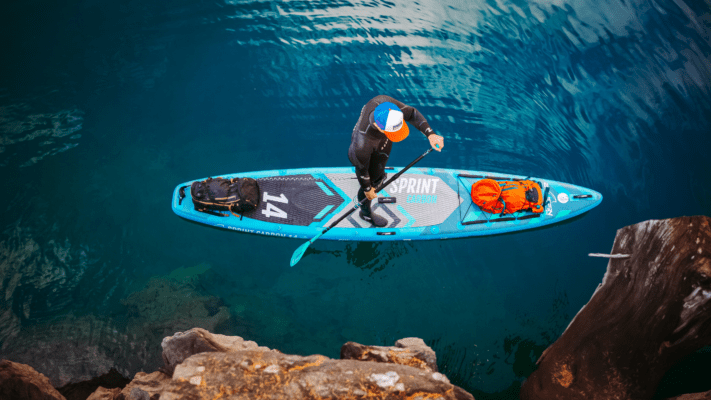 Bluefin stand up paddle board