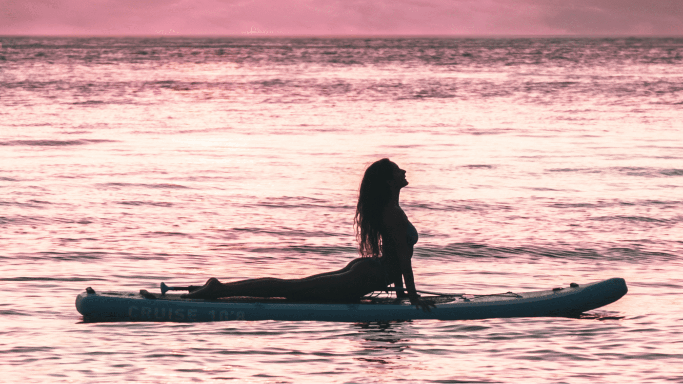 bluefi sup paddleboard yoga poses