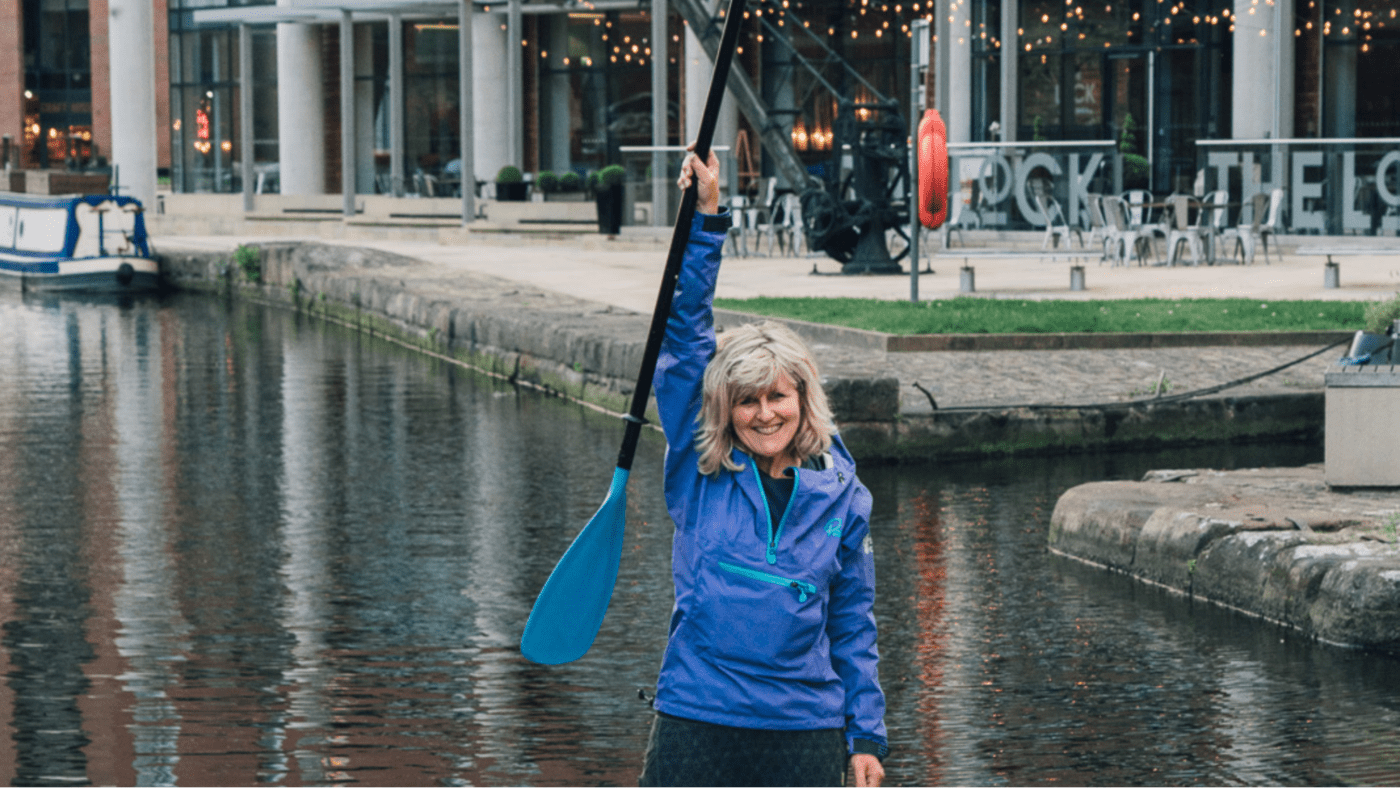 bluefin SUP Jo Moseley in Brave Enough