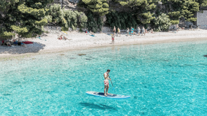 Bluefin sup holiday