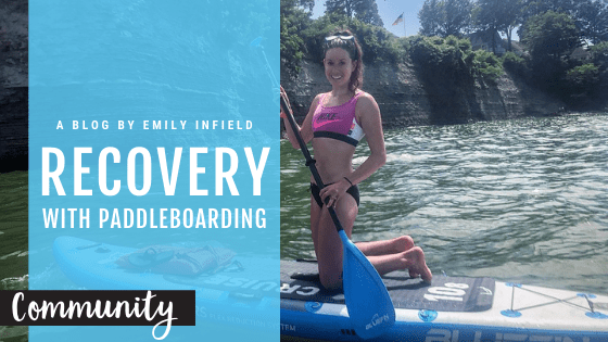 Bluefin paddle board to aid recovery