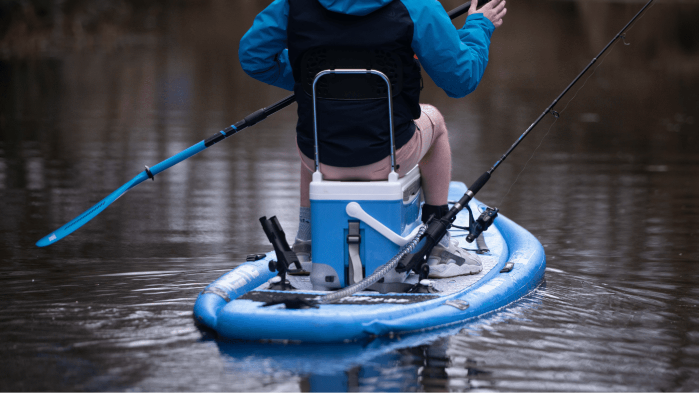 Voyage SUP, Same Voyage SUP NEW Look! Introducing the Ultimate Fishing SUP