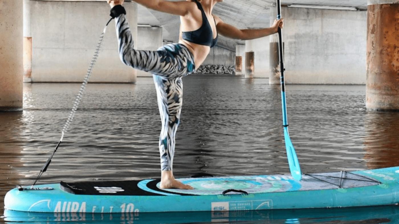 AquaFitness, AURA FIT: AquaFitness su una Tavola da SUP